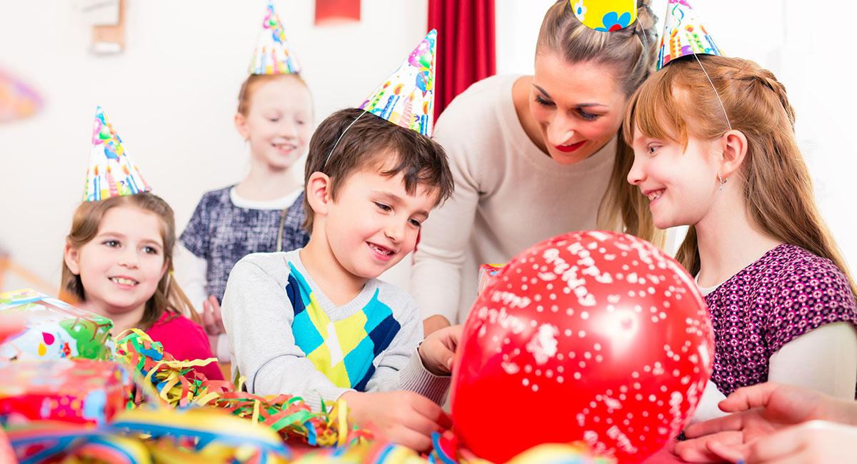 Kindergeburtstag wird drinnen gefeiert
