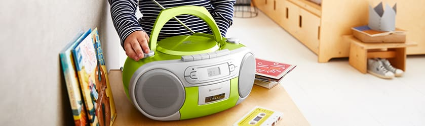 Kinder-MP3/CD-Player, Kassettenspieler & Kinderradio » JAKO-O