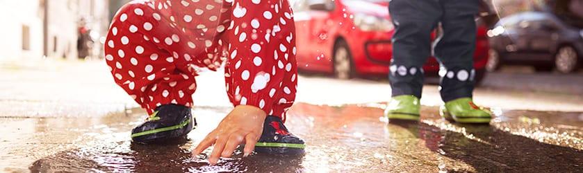 Verkauf Einzelhändler 6798c 18983 Regenbekleidung für Babys: Matschbekleidung kaufen » JAKO-O