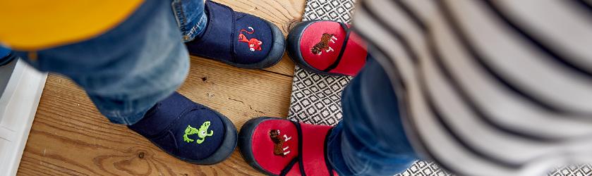 huge discount 2351e 45ef4 Hausschuhe für Kinder: Kinder-Pantoffeln kaufen » JAKO-O