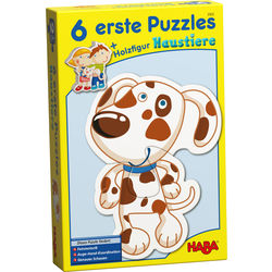 6 Little Hand Puzzles - Animals