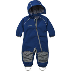 Soft-shell overall teddy fleece