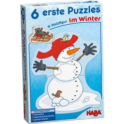 6 erste Puzzles - Im Winter HABA 301338