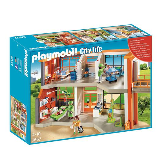PLAYMOBIL® 6657 Kinderklinik | PLAYMOBIL® City Life | PLAYMOBIL ...