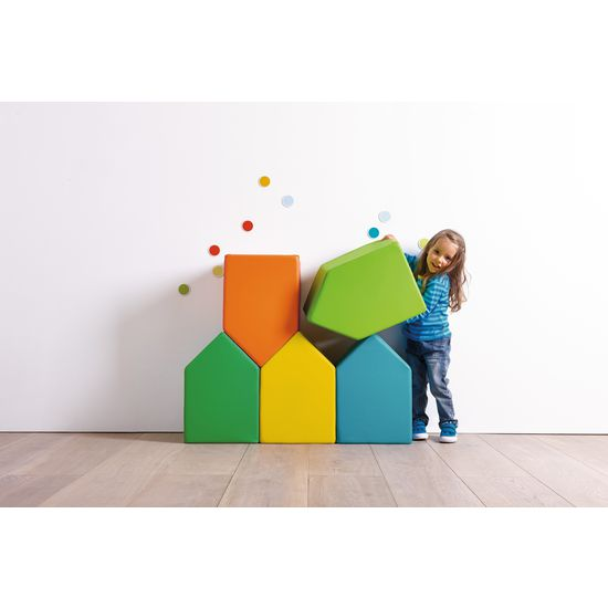 Kinder Schaumstoff-Bausteine, 5 Stück » JAKO-O