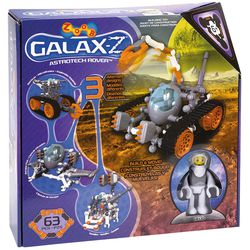 Zoob Galax-Z-Astrotech Rover, 63-teilig
