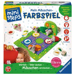 Ravensburger ministeps® 004495 Mein Mäuschen-Farbspiel