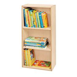Bücherregal Rudi natur JAKO-O, mit 2 Einlegeböden