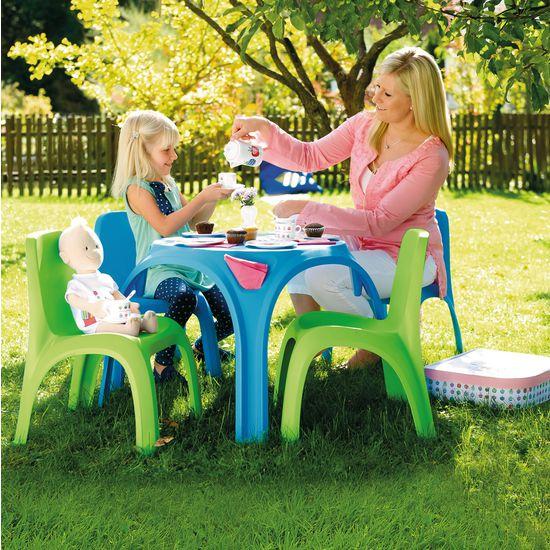 Kinder Gartengarnitur Tisch Mit 2 Stühlen JAKO O