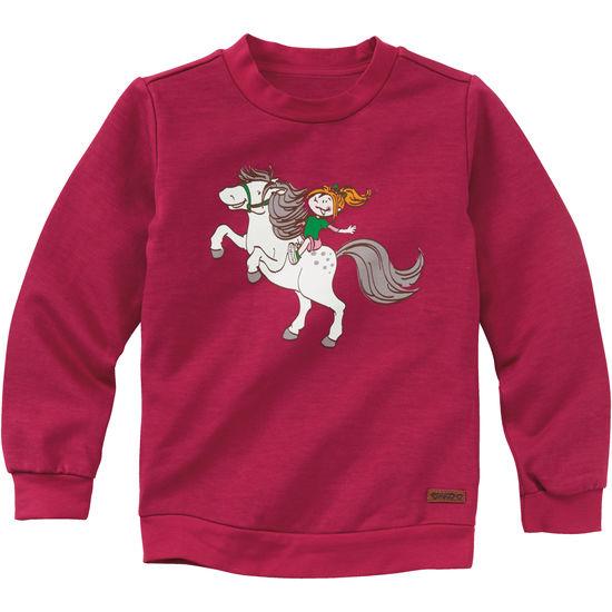 wo zu kaufen Top Qualität Gedanken an Mädchen Sweatshirt Pferd JAKO-O