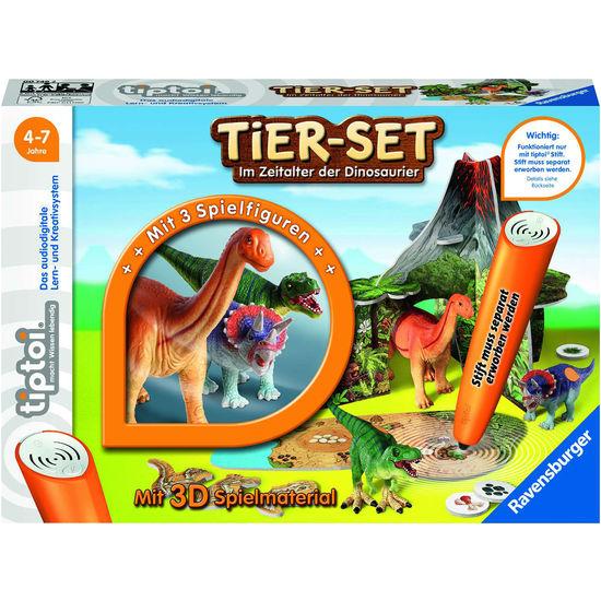 Ravensburger tiptoi Tier-Set Im Zeitalter Der Dinosaurier Interaktive Spielwelt