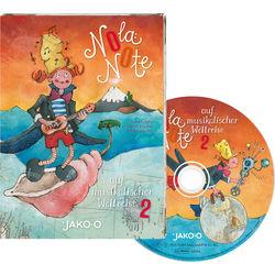 Kinder CD Nola Note auf musikalischer Weltreise 2 JAKO-O