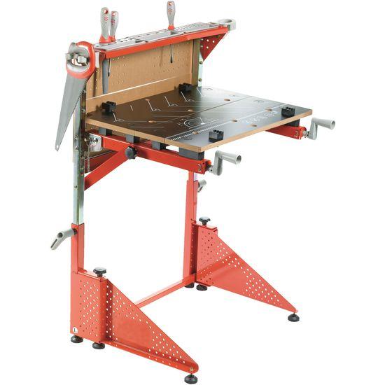 Kinder Hobelbank - Red Tool Box Werkbank Klappbar