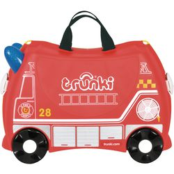 Trunki® Kinder Koffertrolley Feuerwehrauto Frank, 18 l