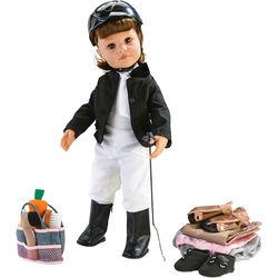 Puppe Hannah -Reiterin-