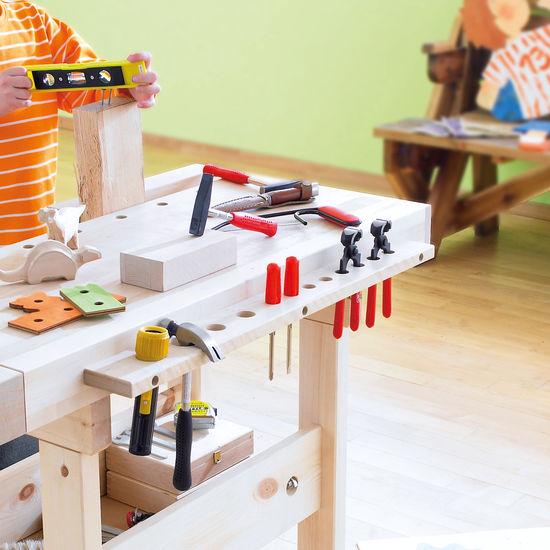 Werkzeugleiste Aus Holz Für Werkbank Jako O