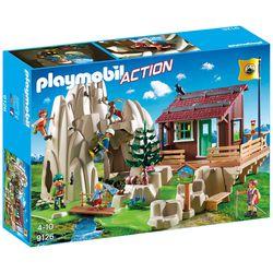 PLAYMOBIL® 9126 Kletterfels mit Berghütte