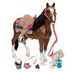 Pferd Kunststoff braun