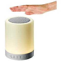 Bluetooth-Lautsprecher mit LED-Partylampe