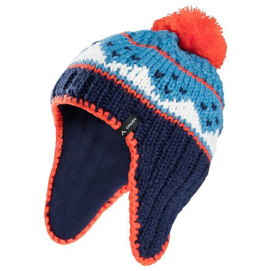 vaude kids knitted cap iv kinder bommelm tze strick jako o. Black Bedroom Furniture Sets. Home Design Ideas