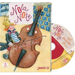 Kinder CD Nola Note auf Orchester-Reise JAKO-O, 2 CDs
