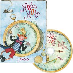 Kinder CD Nola Note auf musikalischer Zeitreise JAKO-O