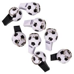 Trillerpfeifen Fußball, 8 Stück