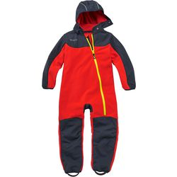 Nylon fleece jumpsuit