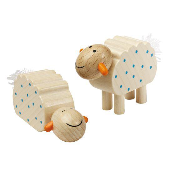 Haba Weihnachtskrippe.Krippenfiguren Schafe Haba 2 Stück