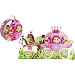 Puzzle-Koffer Prinzessinnenkutsche