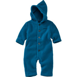 Wool fleece overall