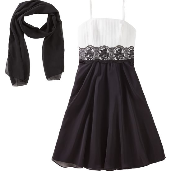 erster Blick toller Wert starke verpackung G.O.L® Mädchen Chiffon-Kleid kurz