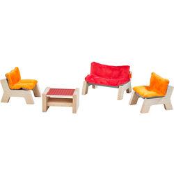 Little Friends - Puppenhaus-Möbel Wohnzimmer HABA 303840