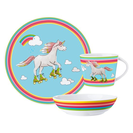 Dishes set unicorn | Tableware sets | Dishes | Household Goods u0026 Helpers | Practical items | JAKO-O - best for kids  sc 1 st  JAKO-O & Dishes set unicorn | Tableware sets | Dishes | Household Goods ...