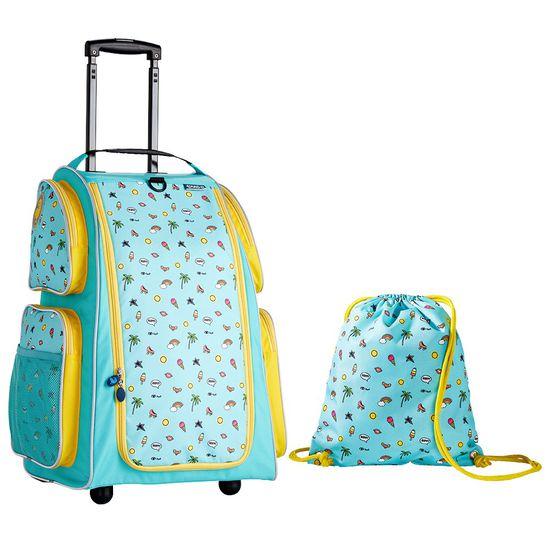 Schrank-Trolley-Set mint   Koffer   Reisegepäck   Familie unterwegs ...