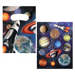 Tüten & Sticker-Set Weltraum