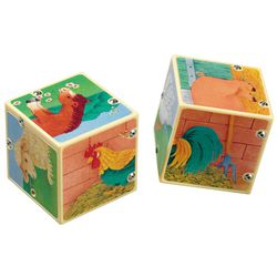 Farmyard sound cube