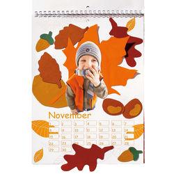 Mal- und Bastelkalender JAKO-O, weiß A4