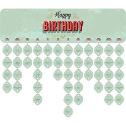 VALINA Birthday Board Geburtstagskalender