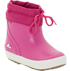 Half-lined rubber boots