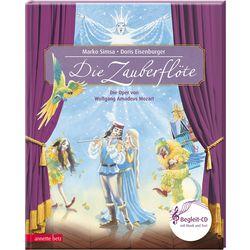 Annette Betz Verlag - Die Zauberflöte, Musikalisches Bilderbuch inkl. CD