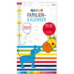 Familien-Kalender mit Knick 2019