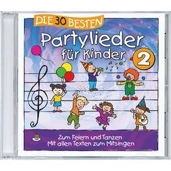 Kinderlieder CD Die 30 Besten: Partylieder für Kinder 2