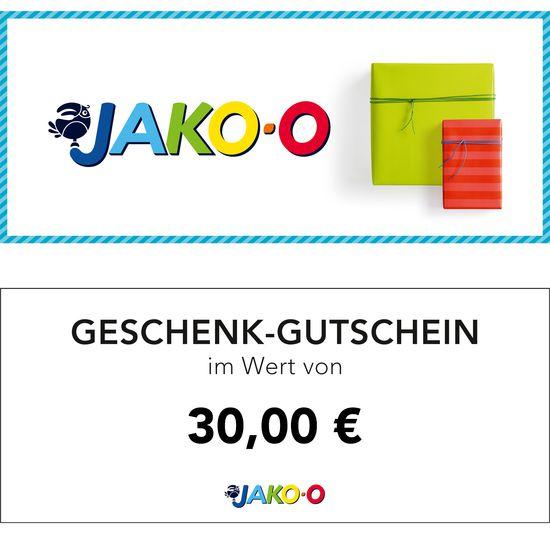 Gutschein 30 Euro Jako O