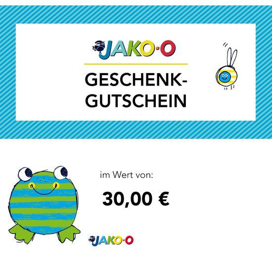 Gutschein 30 Euro Per E Mail Jako O